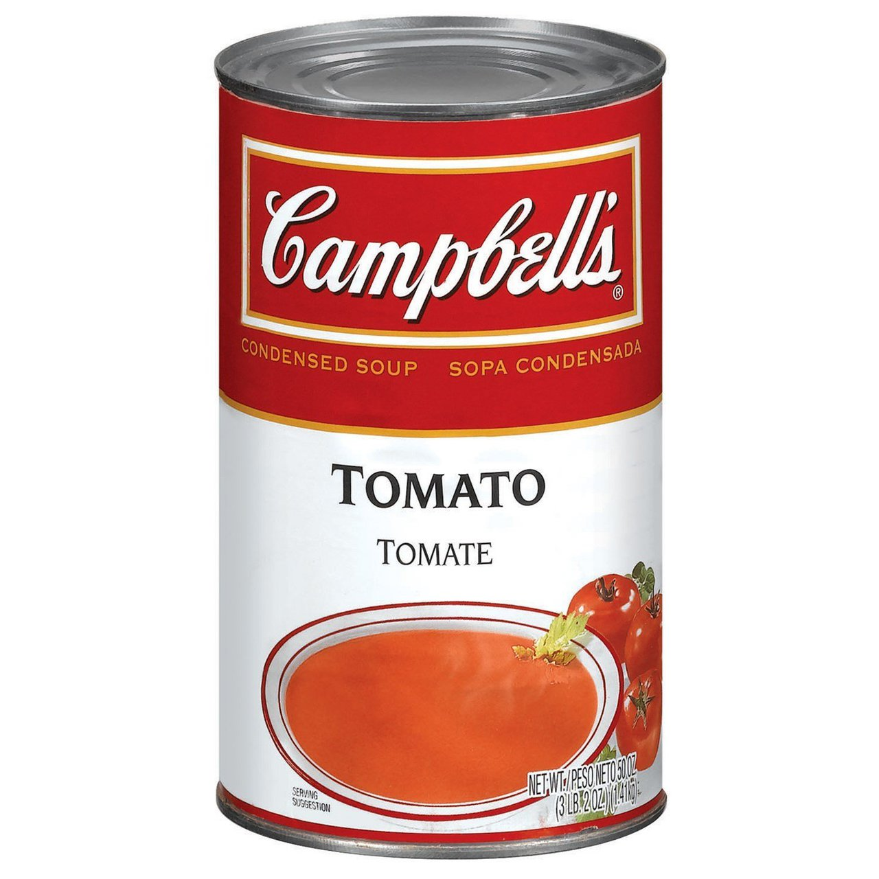 12 PACKS : Campbell's Tomato Soup 50 OZ
