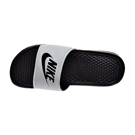 Nike Benassi JDI Men's Sandals White/Black 343880-100
