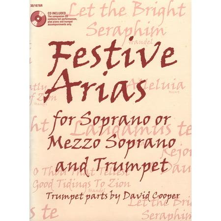 Festive Arias for Soprano or Mezzo Soprano and Trumpet - Various - SongBook - 301676R