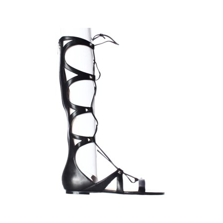 289fe857567 Ivanka Trump Camila Knee High Lace Up Gladiator Sandals