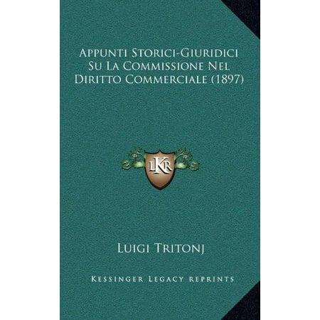 Appunti Storici-Giuridici Su La Commissione Nel Diritto Commerciale (1897) - image 1 de 1