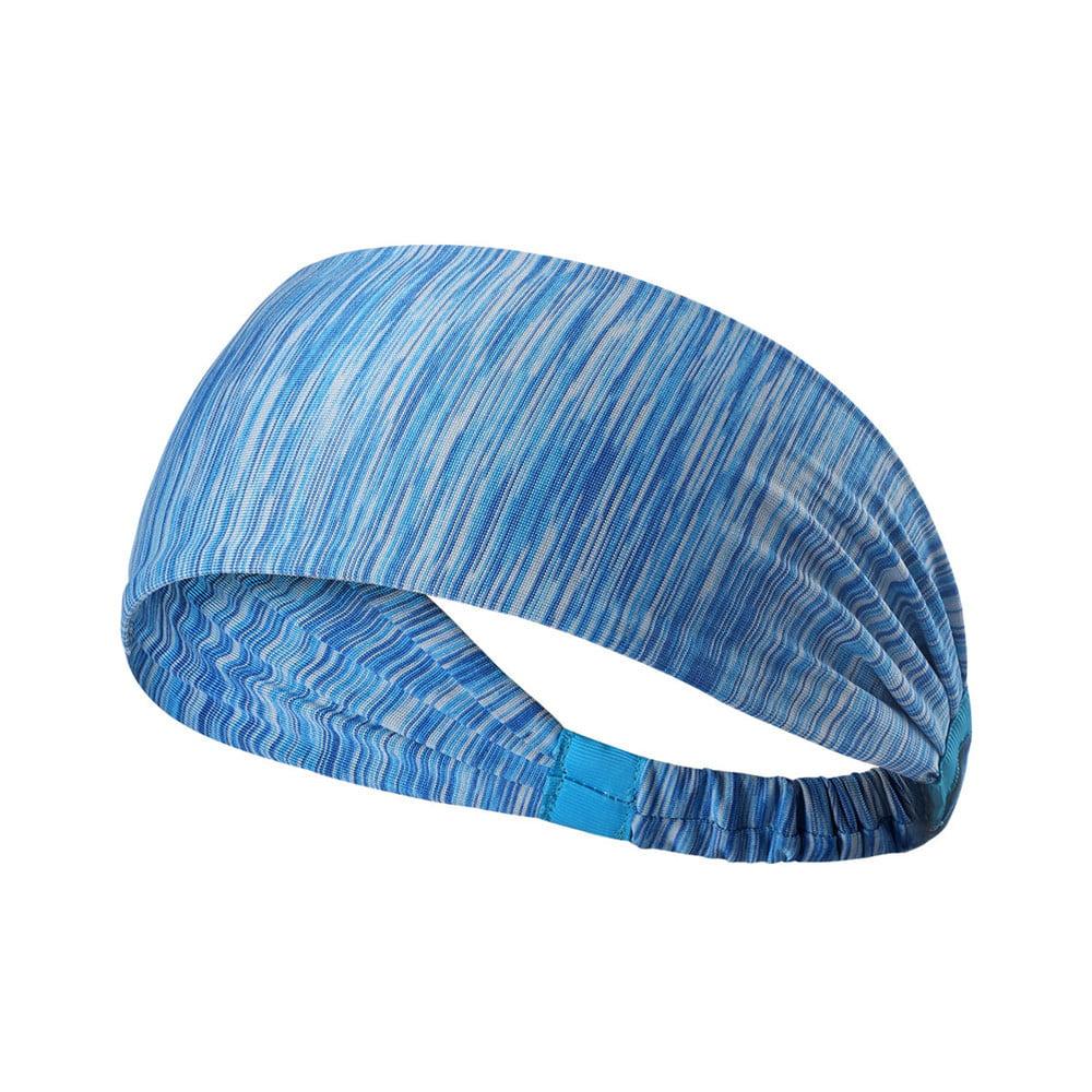 Popular Wide Sports Headband Stretch Elastic Yoga Running Headwrap Hair Band