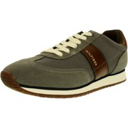 Tommy Hilfiger Men's Modesto Canavas Ankle-High Synthetic Flat Shoe