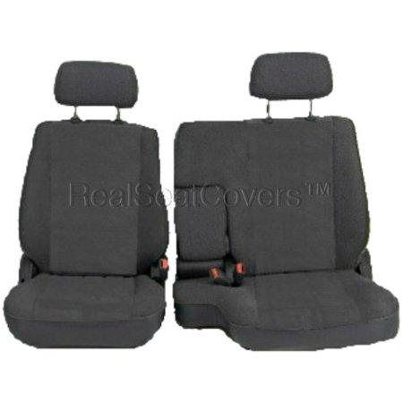 Remarkable Seat Cover For Toyota Tacoma Front 60 40 Split Bench Adjustable Headrest Armrest Charcoal Cjindustries Chair Design For Home Cjindustriesco