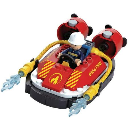 Fire Hose Games (Sluban Kids Fire Boat Hoovercraft with Water Hose Building Blocks 86 Pcs set Building Toy Fire Boat | Indoor Games for Kids )