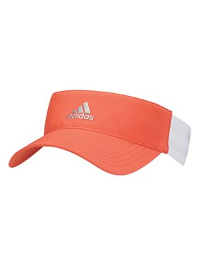 ffc3cd6ad326 Product Image NEW Adidas Golf Women s 3-Stripe Orange White OSFW Visor Cap
