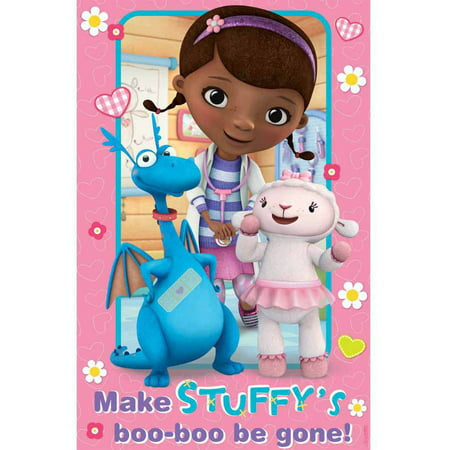 Doc McStuffins Party Game](Doc Mcstuffins Christmas Wrapping Paper)