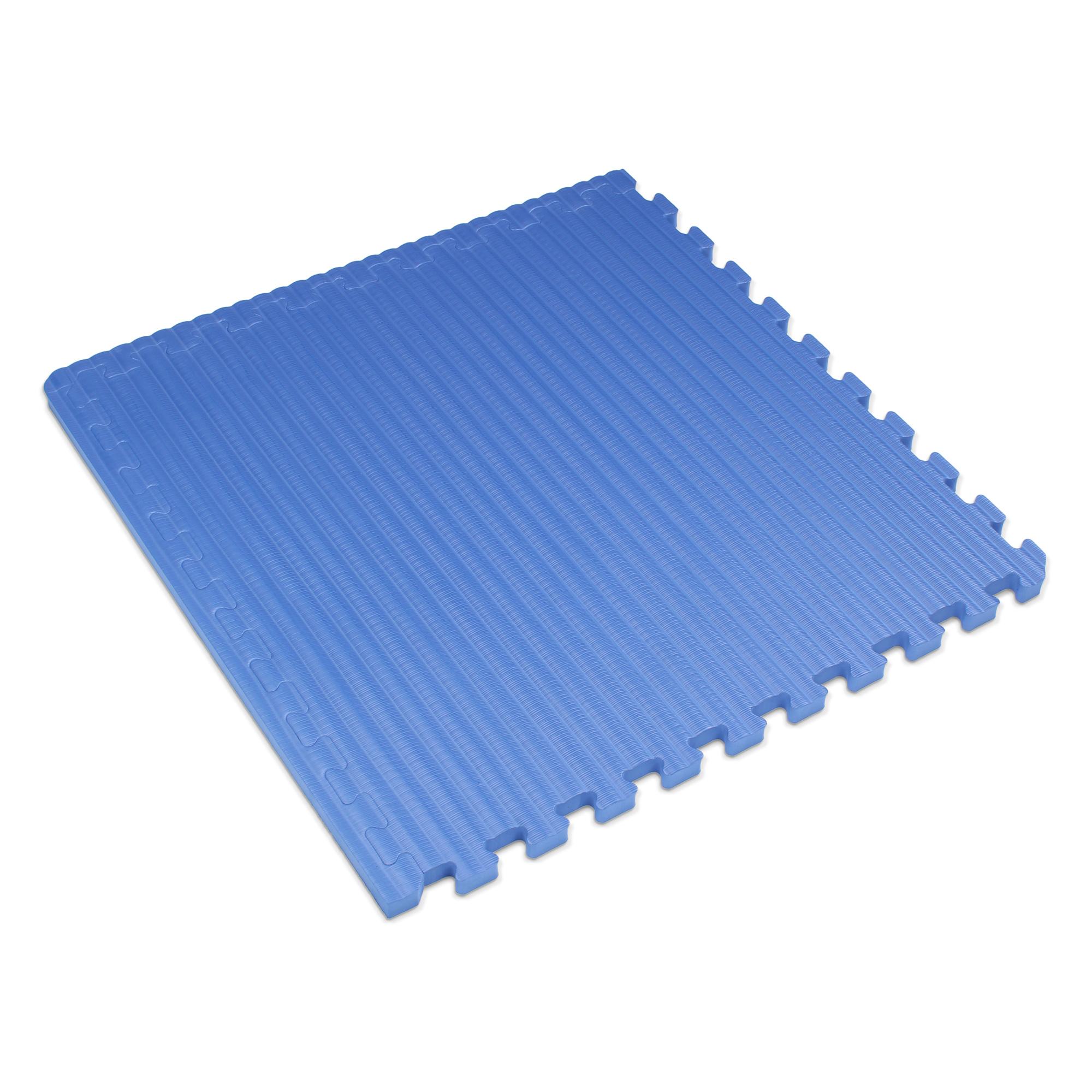 "We Sell Mats 3/4"" Thick Interlocking Foam Tatami Martial Arts Mats, 16 Sq Ft (4 Tiles), Charcoal Gray"