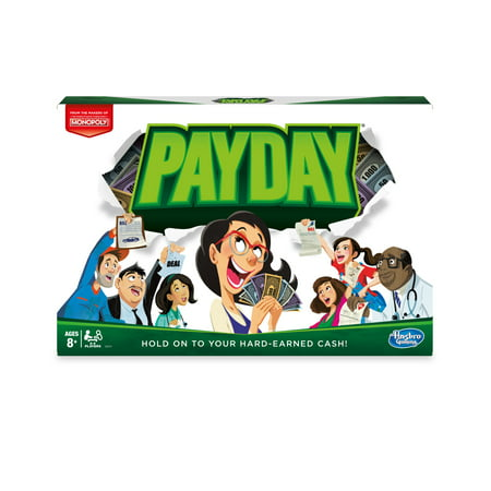 Pay Day Board-game, Ages 8 and up