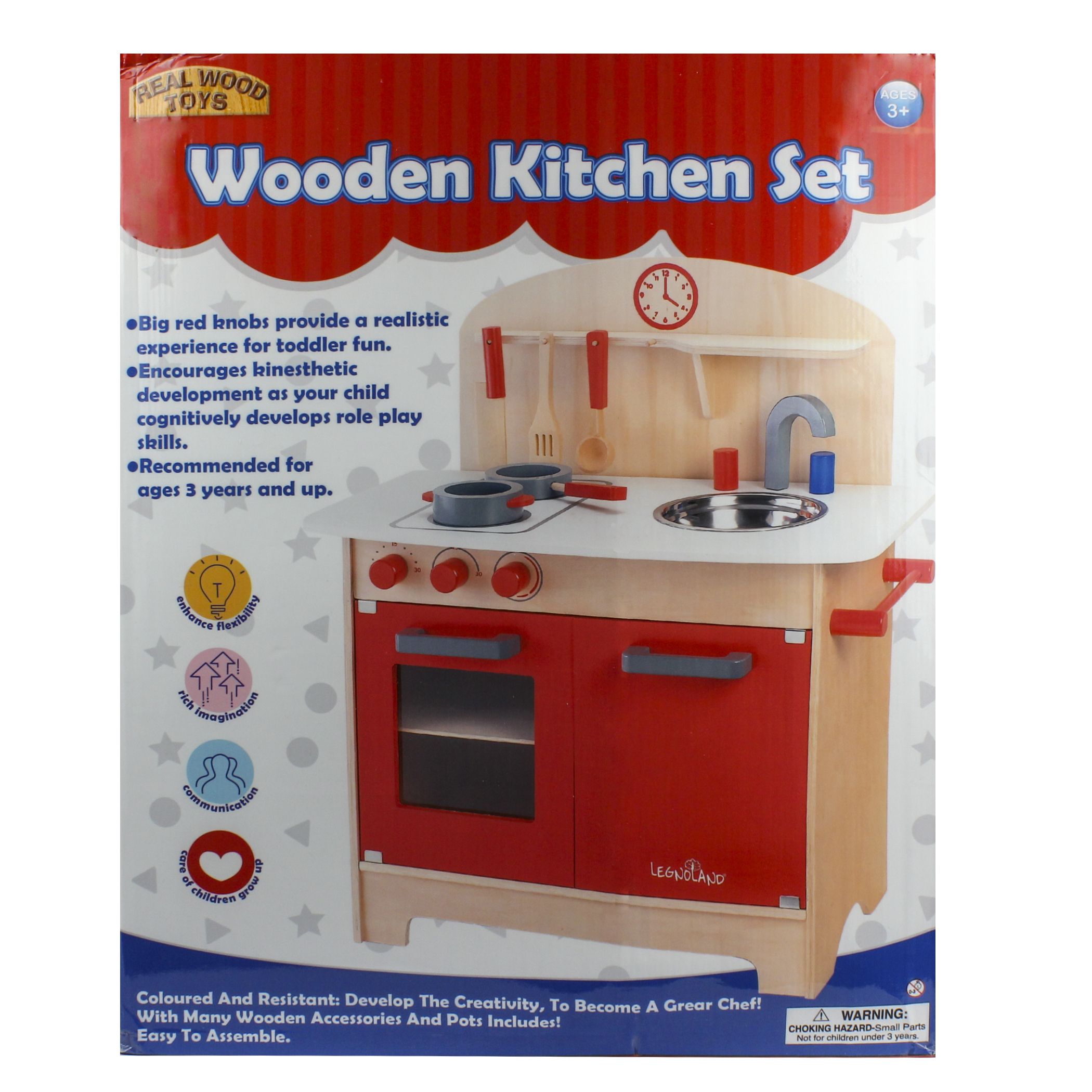 Wooden Kitchen Set Walmart Com Walmart Com