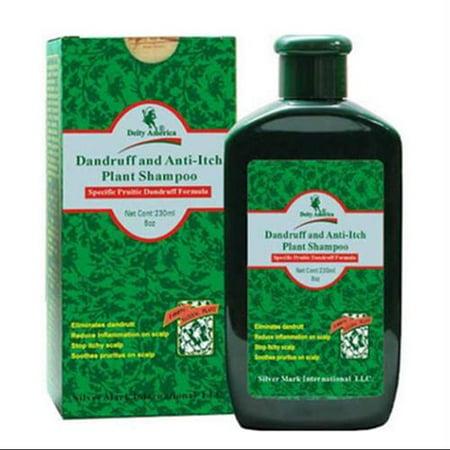 DEITY AMERICA Pellicules & Anti-Itch végétaux Shampooing 8 oz (Lot de 2)