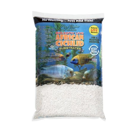 African cichlid substrates bio activ live cichlid gravel for Walmart fish gravel