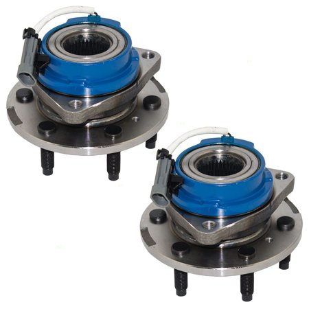 - Pair of Front Wheel Hub Bearings Replacement for Montana SV6 Uplander Terraza Relay 25999685 513236