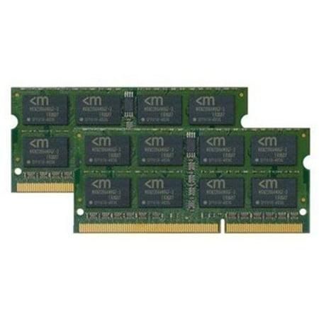 - Mushkin 4GB (2x2GB) Essentials DDR3 PC3-8500 1066MHz Dual Channel Kit Laptop Memory Model 996643