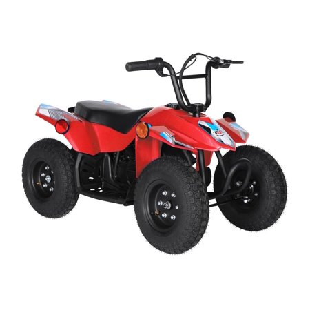 T4B SPARK Mini ATV 250W Brushless Electric KIDS Dirt Quad, 24V13.7Ah, All Terrain, Recreational Outdoors, Off-Road, 3-6 y.o. - Red - image 8 de 11