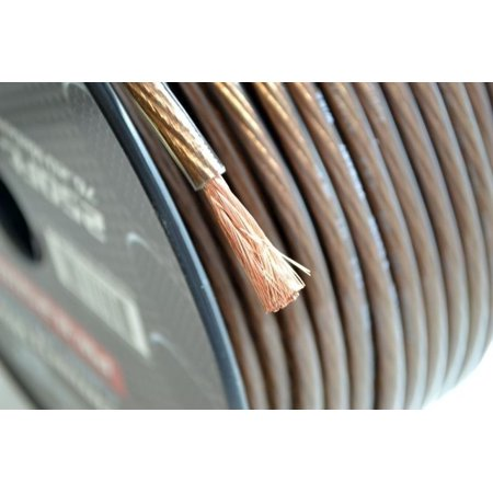 8 Gauge 10 Feet Black Power Ground Wire Cable Copper Mix