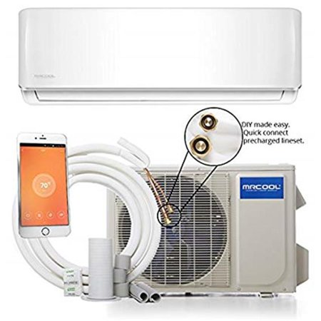 Mrcool Do It Yourself 18,000 BTU 1.5 Ton 16 SEER Ductless Mini-Split Air Conditioner and Heat Pump - (Cost To Replace 5 Ton Air Conditioner)