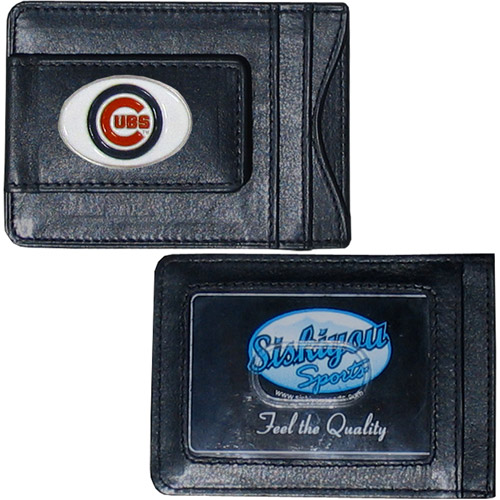 MLB - Money Clip and Cardholder, Chicago Cubs