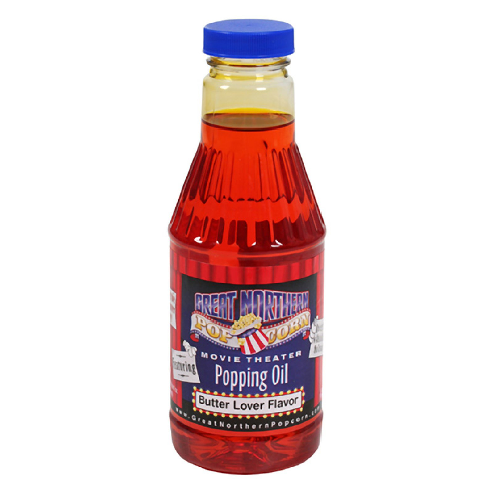 Great Northern Popcorn 8701 Premium Butter and Oil Pint Flavored Popping Oil