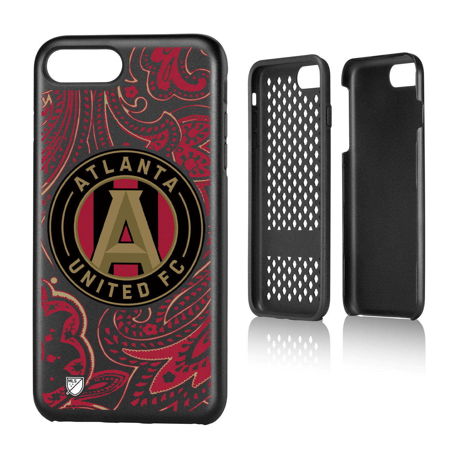 Atlanta United FC ATLUTD Paisley Rugged Case for iPhone 8 Plus / 7 Plus