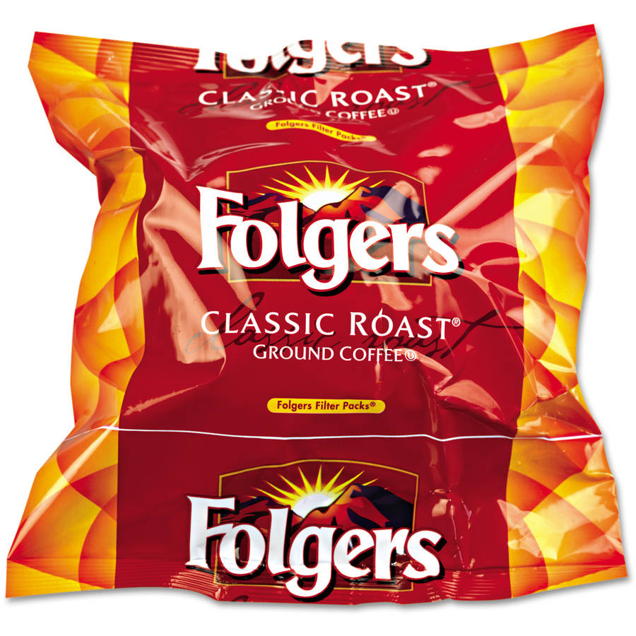 Folgers Regular Ground Coffee, 160 ct