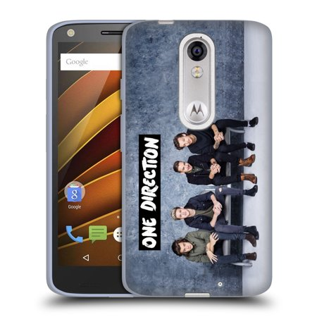 Official One Direction Group Photos Soft Gel Case For Motorola Phones