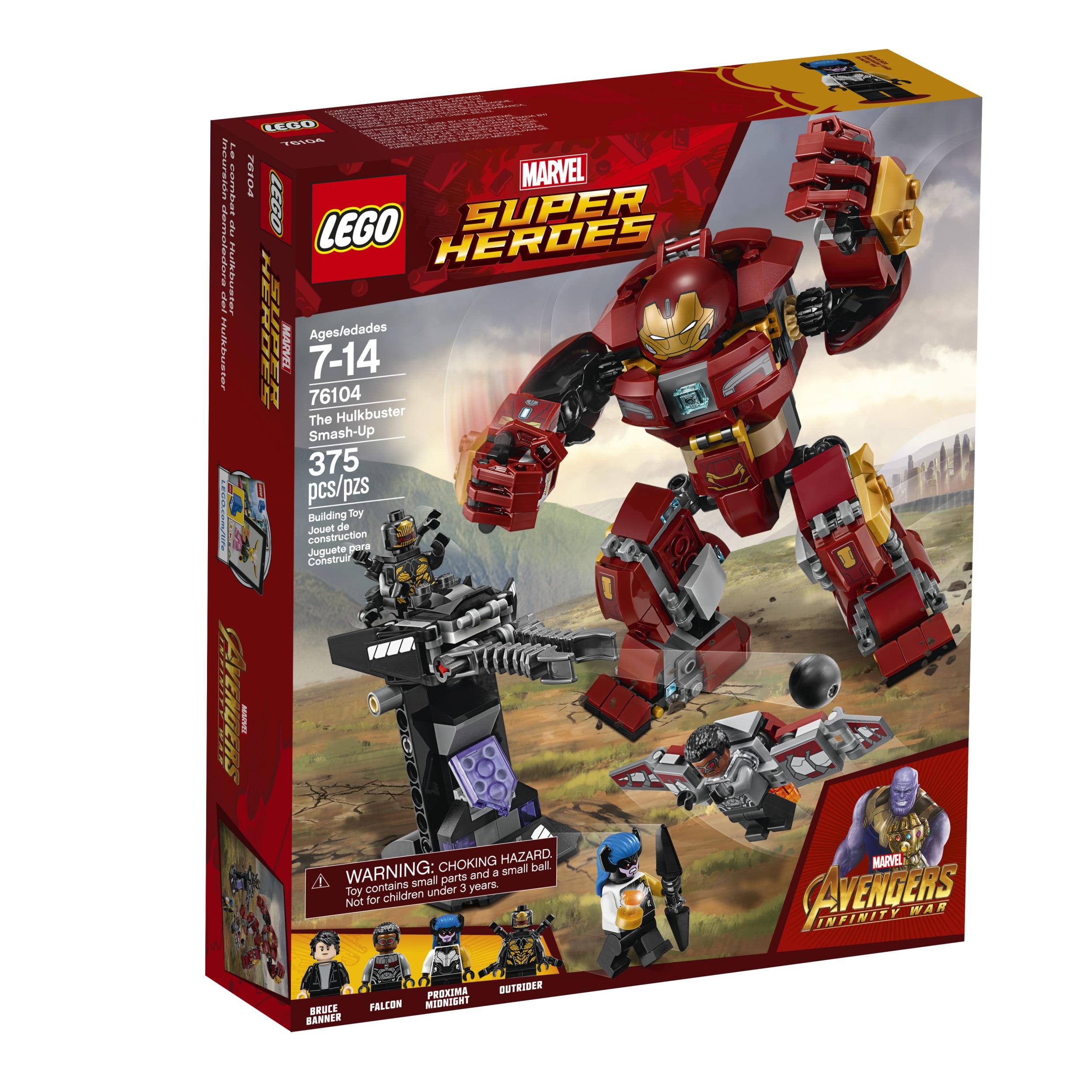 lego marvel super heroes avengers the hulkbuster smash up 76104