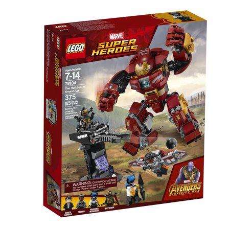 Best LEGO Marvel Super Heroes Avengers The Hulkbuster Smash-Up 76104 deal