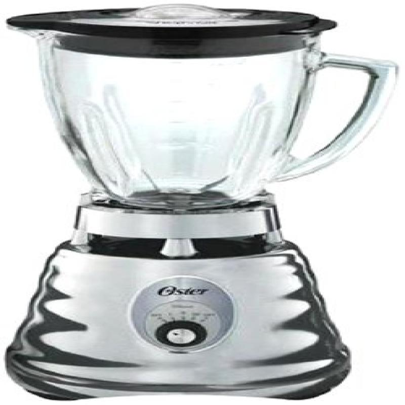 Oster 4655 3-Speed Chrome Retro Blender with 5-Cup Glass ...