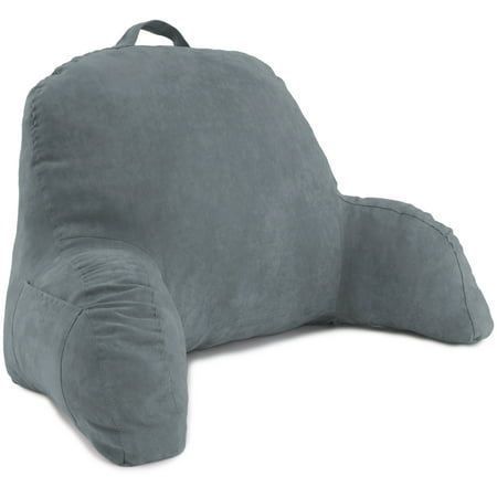 Deluxe Comfort Microsuede Bed Rest Reading And Bedrest Lounger