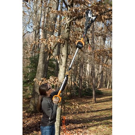 Worx WG308 5 Amp 4 in. JawSaw Electric Chain Saw with Extension Pole