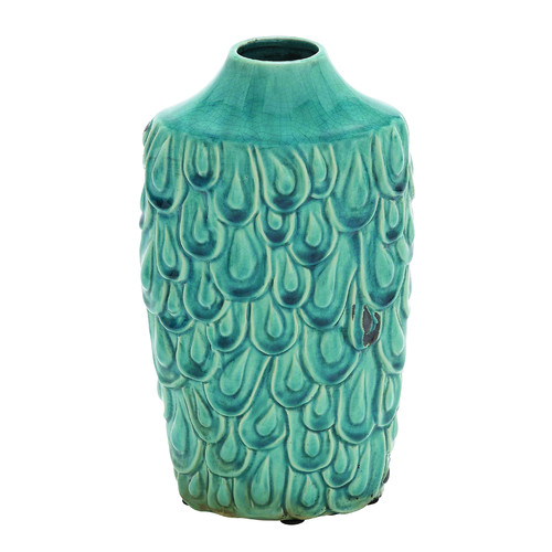 Woodland Imports Fascinating Yangtze Ceramic Vase