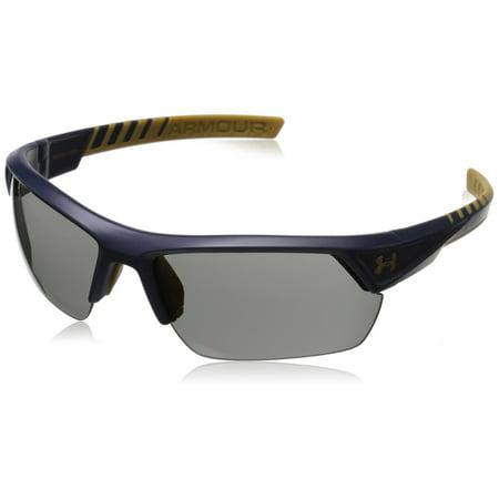Under Armour UA Igniter 2.0 Satin Navy Frame Gray Lens Men's (Under Armour Core Sunglasses)