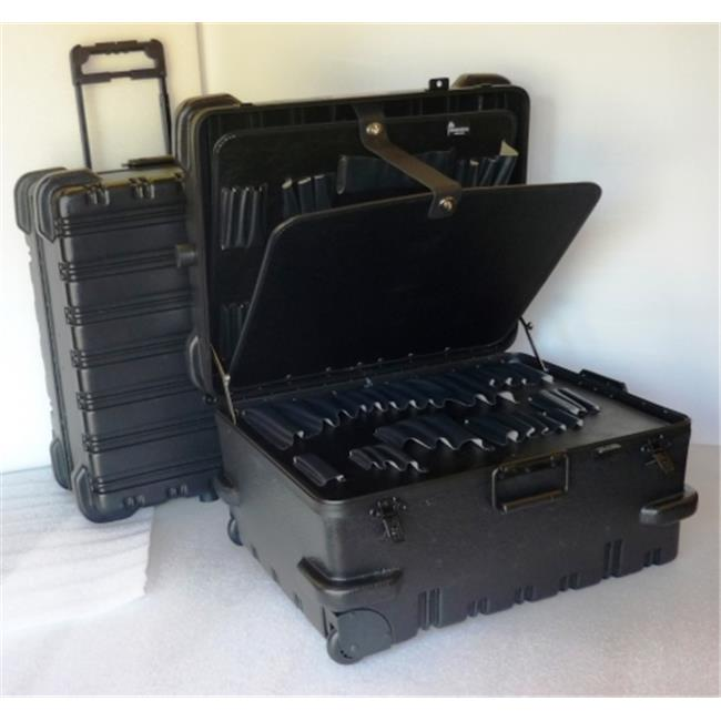 Chicago Case Co 95-8597 MSCART23CC Military Ready Black Contractor Tool Case