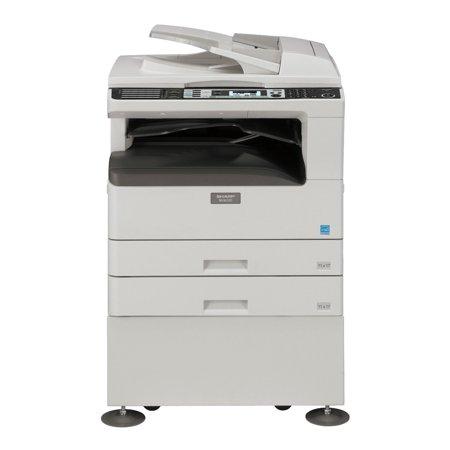 Refurbished Sharp MX-M232D A3 Monochrome Laser Multifunction Copier - 26ppm, Print, Copy, B/W & Color Scan, Auto Duplex, Network, 600 x 600 dpi, 2 Trays, Cabinet