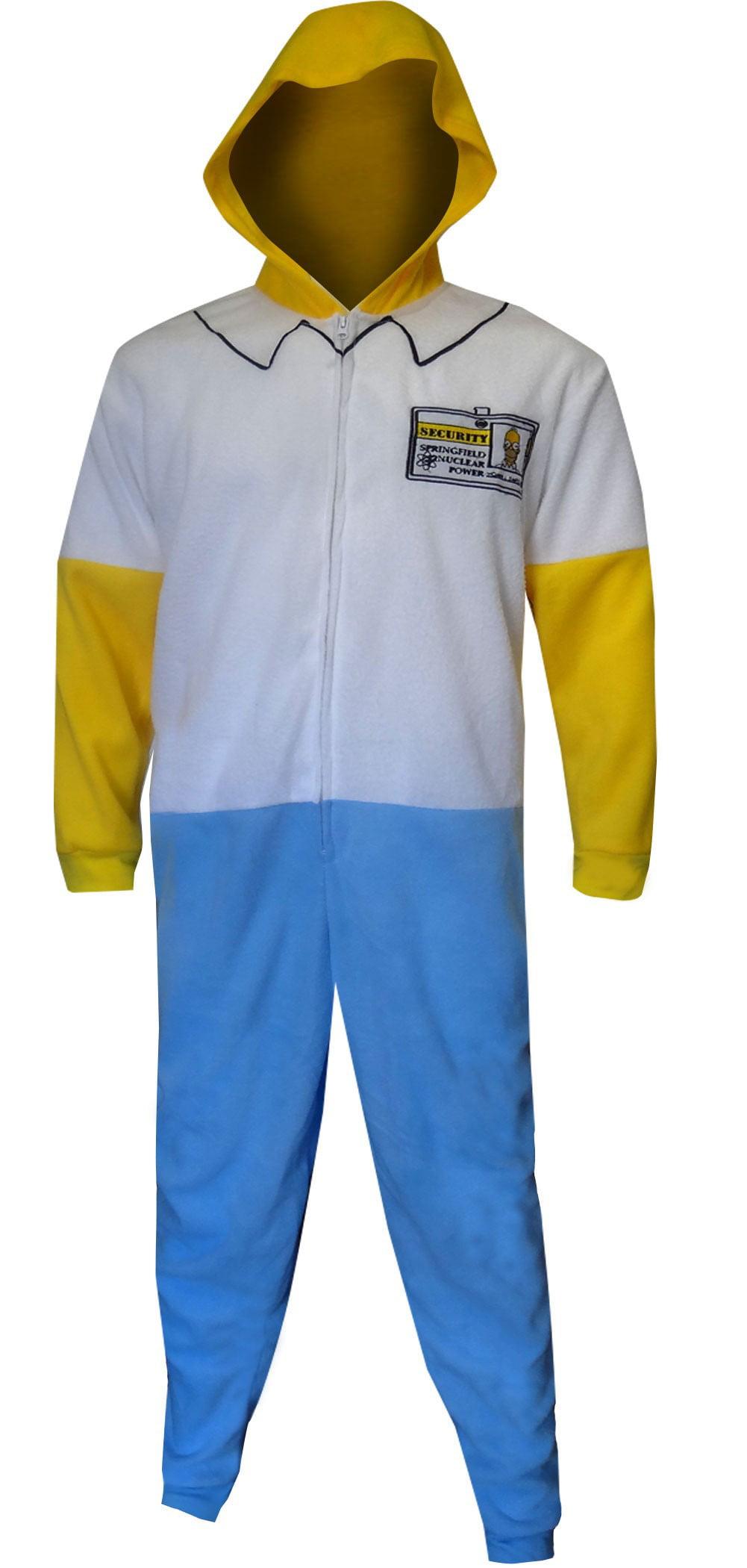 The Simpsons Mens Homer Simpson Pajamas