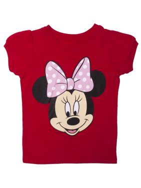 1a2d9378 Product Image Minnie Mouse Bow Red Toddlers T-Shirt