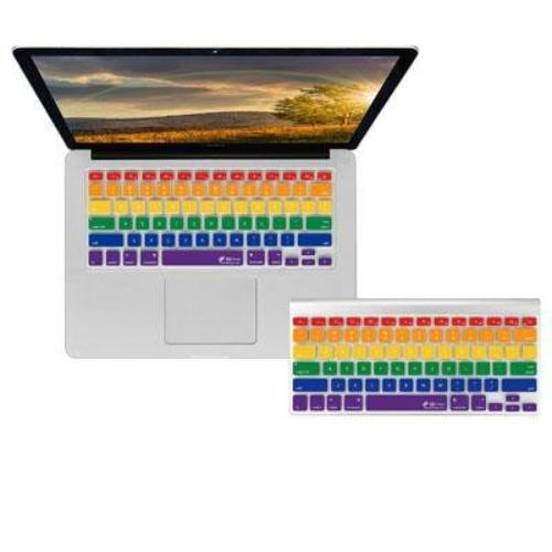 Kb Covers Notebook Keyboard Skin - Notebook Keyboard - Rainbow - Silicone (rainbow-m-cc)
