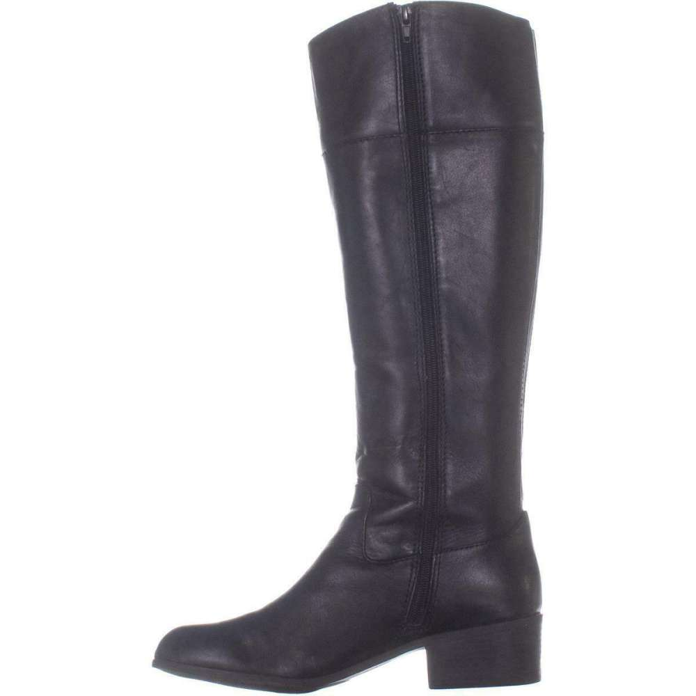 767bf1a541bd Alfani Womens Briaah Leather Round Toe Knee High Fashion Boots ...