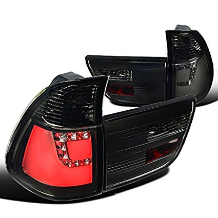 - BMW E53 X5 Smoke Lens LED Rear Brake Lamps Tail Lights Left+Right