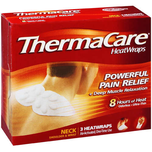 Thermacare Air Activated Heat Wraps, Neck, Wrist and Shoulder