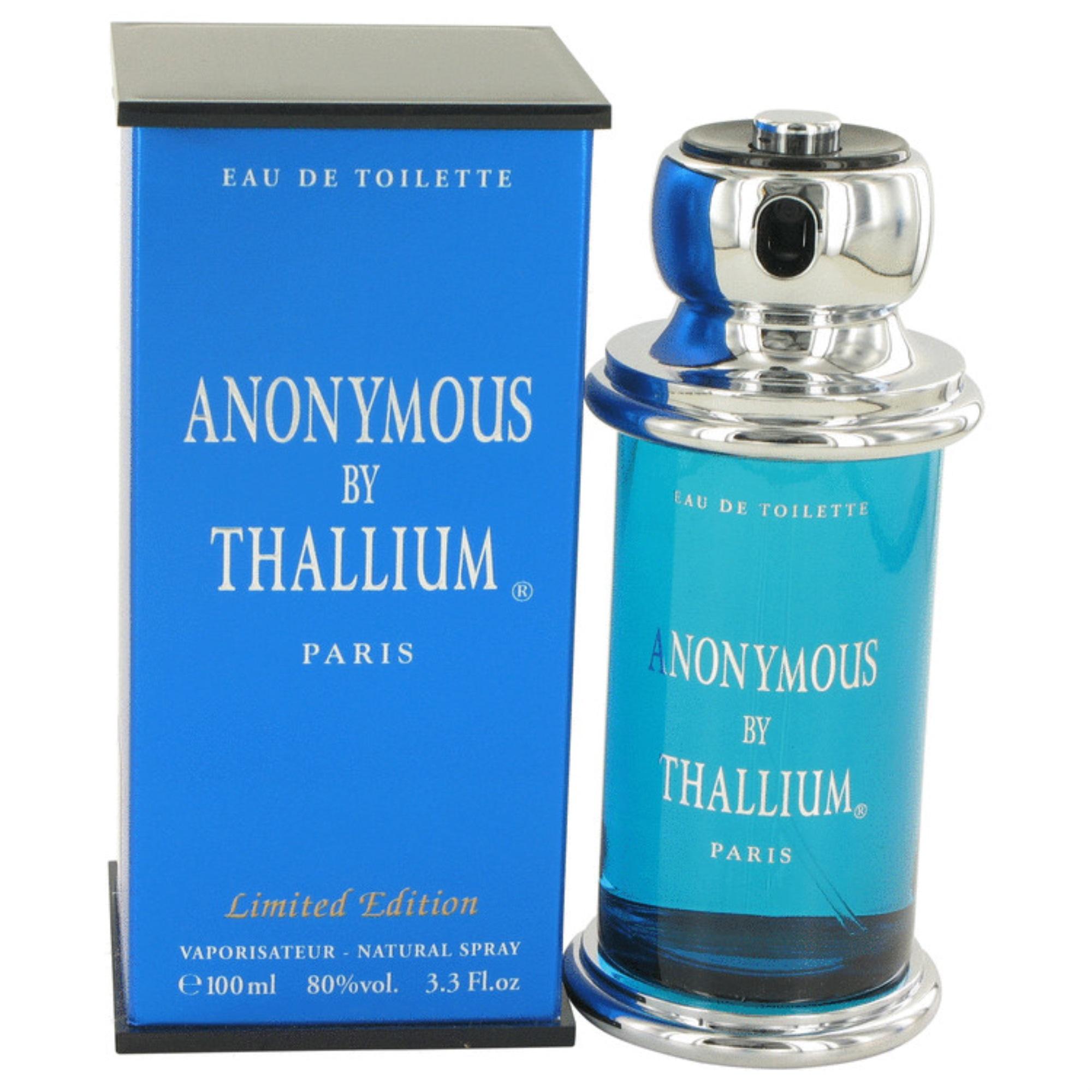 65211107d01 Thallium Anonymous Cologne by Yves De Sistelle, 3.3 oz Eau De Toilette Spray