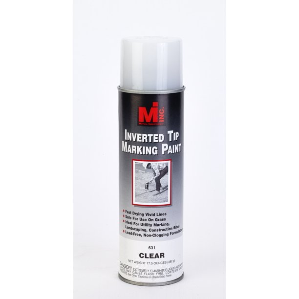 Inverted Tip Spray Paint 631 Clear 20 Oz 12 Cs Walmart Com Walmart Com