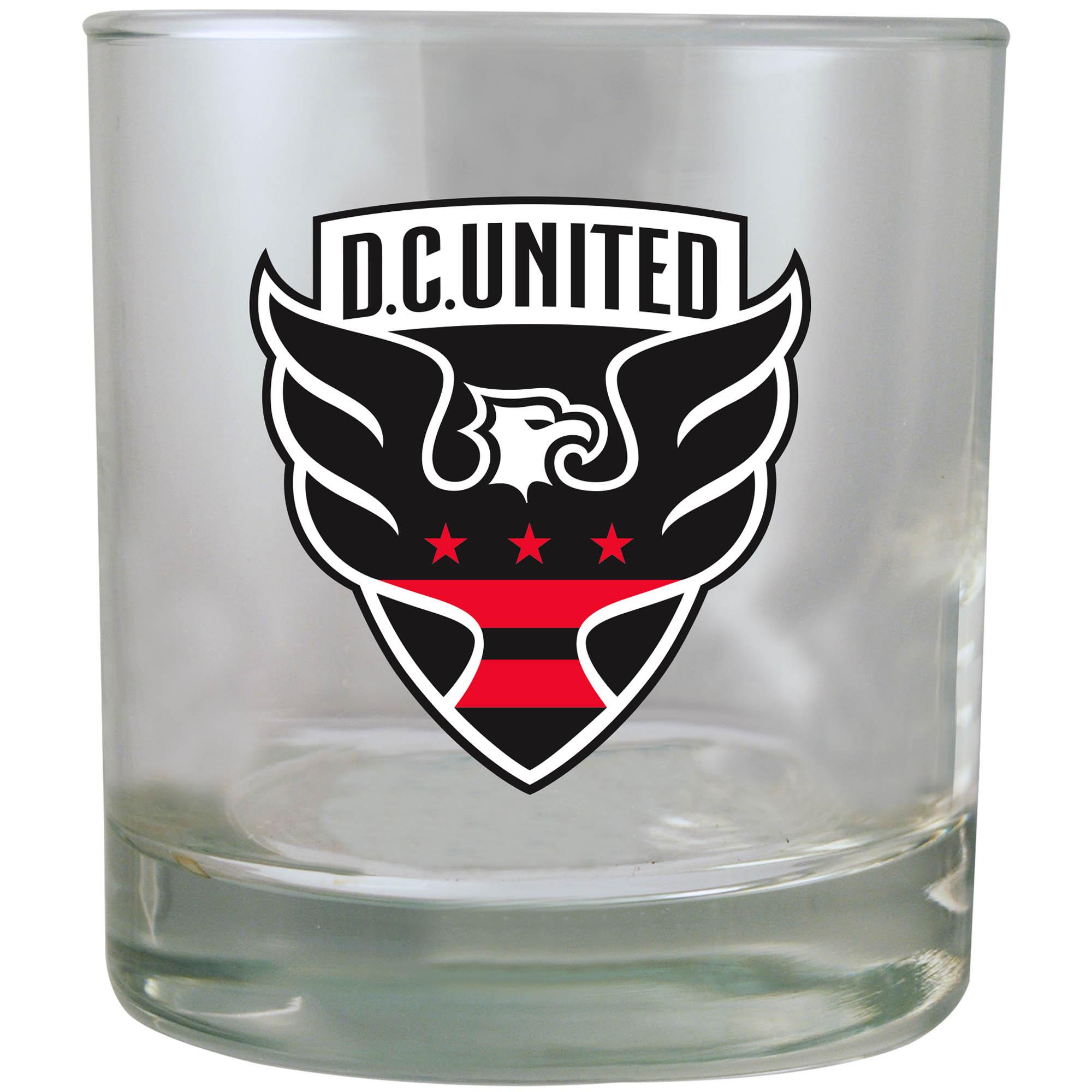 D.C. United 8.45oz. Rocks Glass - No Size