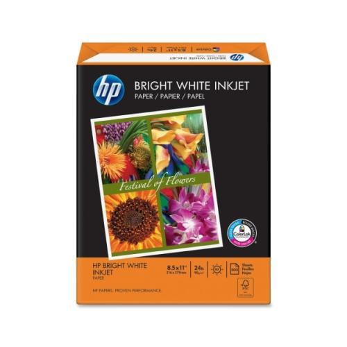 HP Bright White Inkjet Paper HEW203000
