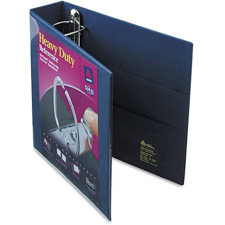 """2"""" Heavy Duty View Ring Binder with One Touch EZD Rings Navy Blue - Avery"""