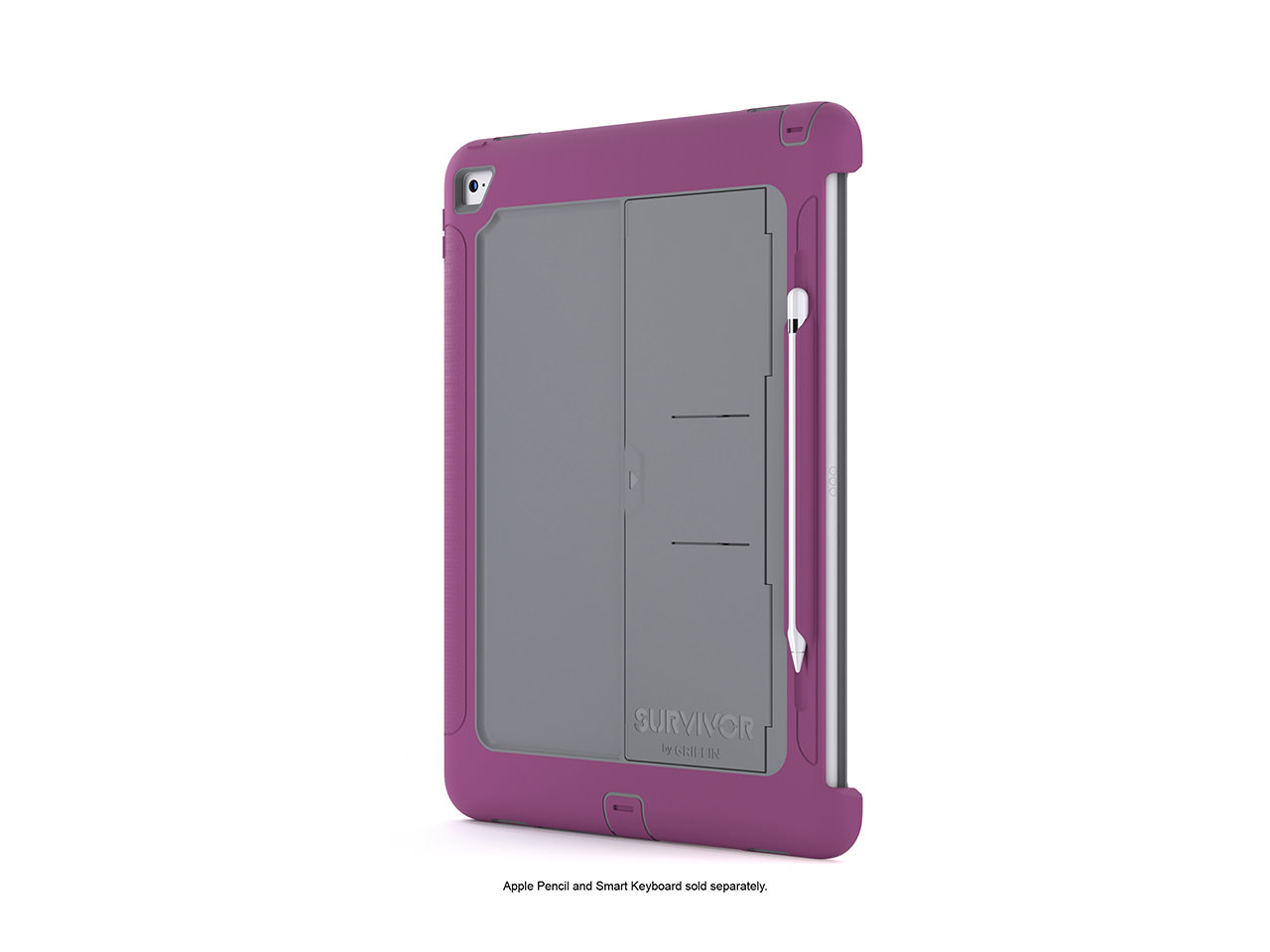 Griffin Griffin iPad Pro 12.9 Rugged Case Survivor Slim, Protective Case + Stand, The drop protection of original... by Griffin Technology