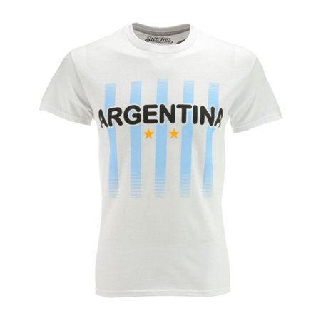 Stitches Athletic Gear Mens Argentina Soccer Graphic T Shirt