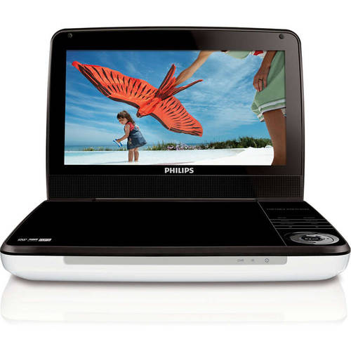 "Refurbished Philips PD9000/37S 9"" LCD Portable DVD Player"