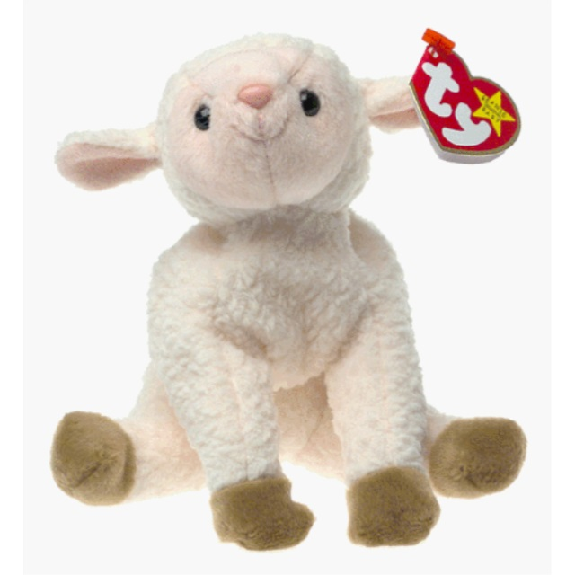 ty beanie bIy - ewey the lamb [toy]